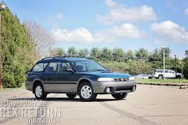 subaru outback rally wheels 1997 subaru legacy outback wagon 55 017 miles carwrex subarus