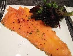 saumon cuisine fut autour du saumon mimy wasabi