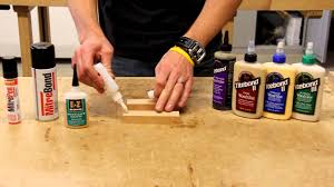 using wood using ca glue and titebond wood glue together
