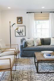 coffee table grey living room sofa design simple decor living room white sisal rugs wooden coffee