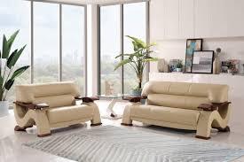 global furniture bonded leather sofa global furniture u2033 modern design cappuccino bonded leather sofa