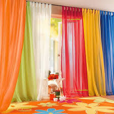 interesting classic simple fabric curtain design ideas with white