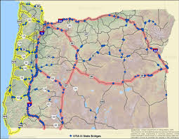 oregon trail map map of oregon trail oregon map stock footage