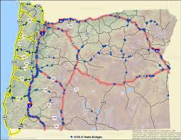 map of highway 395 oregon oregon s work zone traffic analysis program presentation fhwa