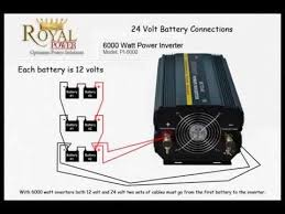 battery connections series vs parallel connections youtube