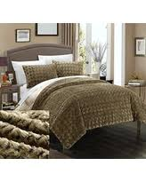Faux Fur Comforter Queen Fall Into These Black Friday Savings Faux Fur Comforter Set 3