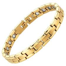ladies bracelet with images New ladies hi power titanium magnetic bracelet with free adjuster jpeg