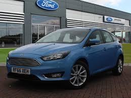 used 2017 ford focus titanium auto for sale in scotland pistonheads