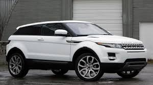 land rover evoque black and white range rover evoque coupé dynamic in fuji white with panoramic