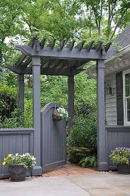 25 unique grey fence paint ideas on pinterest black fence paint