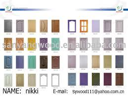 modern kitchen pvc kitchen cabinet door style sales buy pvc