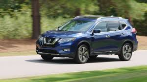 2017 Nissan Rogue Versus Honda Cr V Subaru Forester And Toyota