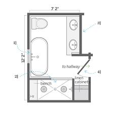 floor plans for bathrooms attic bathroom designs plans apartment design ideas