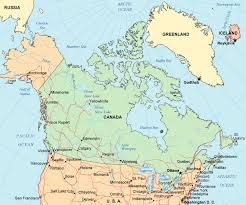canadian map with great lakes map of canada maps of canada