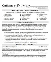 Resume Sample For Cook by 10 Cook Resumes Free Samples Examples Format Download Free