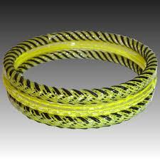 murano glass bangle bracelet images Set of 3 striped murano glass bangle bracelets bejewelled ruby jpg