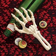 Halloween Skeleton Hands Amazon Com Design Toscano Skeleton Ghost Hand Bottle Opener Home