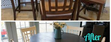 Painted Kitchen Table And Chairs by Annie Sloan Chalk Paint Kitchen Table Tutorial For The Love Of
