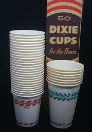 vintage dixie cups refill no 1685 5 oz in box paper cups