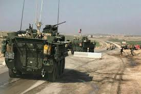 It Is Being Reported That Turkish Military Forces Have by Us Troops Patrol Syrian Town In Peacekeeping Effort Military Com