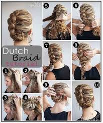 braided hairstyle instructions step by step braid instructions step by u basic how to do a side dutch on