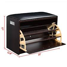 amazon shoe storage cabinet wood shoe storage bench ottoman cabinet closet shelf entr https
