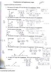 Segment Addition Postulate Worksheet Math Geometry High Geometry C E Murray High Page 1
