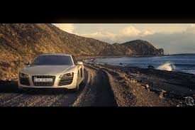 sunset audi renderism the sunset audi r8