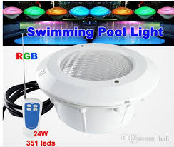 300 watt pool light bulb ac 12v led swimming pool light rgb 24w par56 with cover waterproof