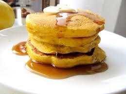 knifing forking spooning pumpkin pancakes