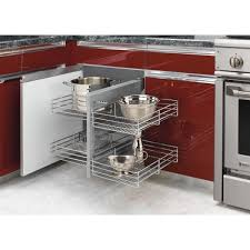 home depot kitchen cabinet organizers rev a shelf 21 in h x 26 25 in w x 20 25 in d blind