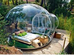 bulle chambre attrap reves dormir dans une bulle transparente à la étoile