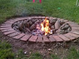 Round Brick Fire Pit Design - diy round brick fire pit fire pit design ideas