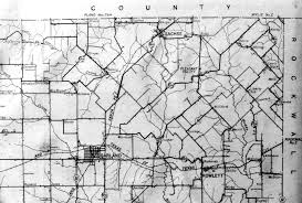 Map Of Dallas County by Rural Delivery Route Map Of Northeastern Dallas County Texas
