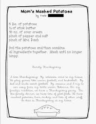 once upon a creative classroom a thanksgiving class recipe book