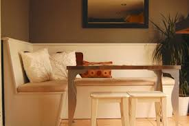 build in a kitchen bench to suit the available space