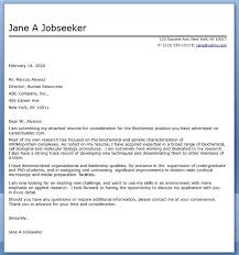 exles of a cover letter for a resume 2 biochemistry cover letter exle creative resume design