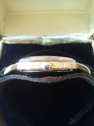 arcadia wedding band 1950 s arcadia de luxe automatic incabloc swiss