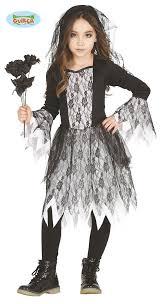 Girls Zombie Halloween Costume Kids Girls Ghost Bride Corpse Zombie Halloween Horror Fancy Dress