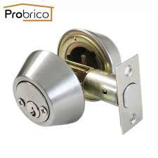 Bedroom Door Locks With Key Hardware Indoor Wooden Door Lock Mechanical Double Tongue Lock