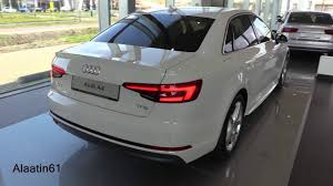 audi a4 white 2017 audi a4 s line 2017 in depth review interior exterior youtube