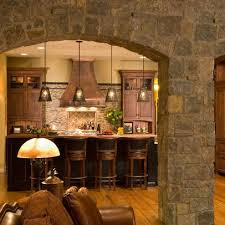 Stone Kitchen Backsplash Plushemisphere 115 Best Stone Kitchens And Bars Images On Pinterest