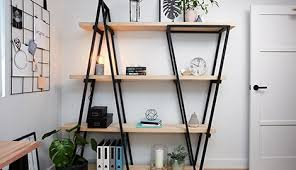d i y industrial wooden bookshelf bunnings warehouse