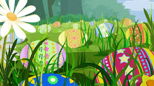 easter eggs wallpapers easter eggs in the grass widescreen wallpaper wide wallpapers net