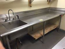 prep table with sink stainless steel table with sink ikea metal table top ikea stainless