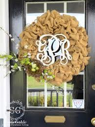 burlap wreaths burlap wreath diy stonegable