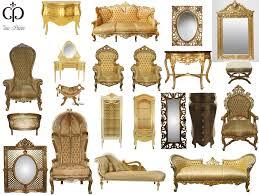 gold goldenes design prunkvoll casa padrino luxus designer
