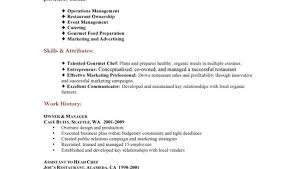 Resume Skills Examples Retail by Restaurant Resume Example Retail And Restaurant Associate Resume