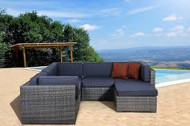 Wicker Sectional Patio Furniture - wicker sectional outdoor furniture roselawnlutheran