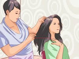 3 ways to cut good layered bangs wikihow